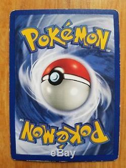 1995 Pikachu Gnaw Pokemon Card 58/102 Rare. Excellent condition