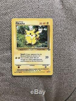 1995 Pikachu Pokemon Card Ultra Rare Trading Cards Excellent Condition Original