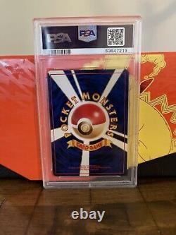 1996 Pokemon Card WOTC Japanese Base Set Charizard Rare Holo #006 PSA 9 MINT