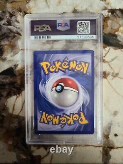 1999 Pokemon Card Base Set 4/102 Charizard Holo Rare PSA 7 NEAR MINT