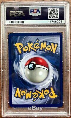 1999 Pokemon Card Game Base Set Charizard 4/102 Rare Holo PSA 6 EX-MT