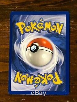 1999 Pokemon Card Game Charizard Base Set Unlimited Holo Rare 4/102 WOTC NM/MINT