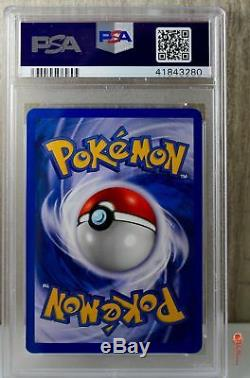 1st Ed Dark Blastoise Holo Rare Pokemon Card 3/82 Rocket Set PSA 10 GEM MINT