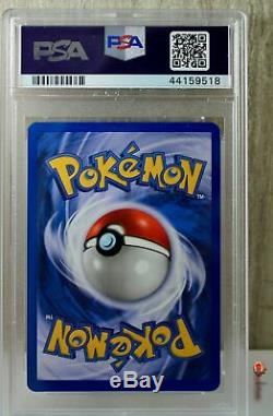 1st Ed Dark Charizard Holo Rare WOTC Pokemon Card 4/82 Rocket Set PSA 9 MINT