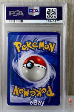 1st Ed Gengar Holo Rare 1999 WOTC Pokemon Card 5/62 Fossil Set PSA 10 GEM MINT