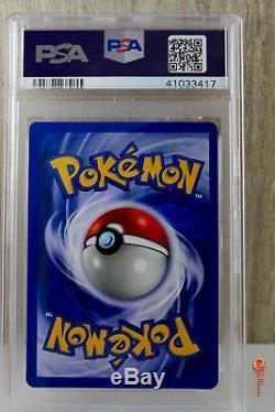 1st Ed Light Dragonite Holo Rare Pokemon Card 14/105 Neo Destiny PSA 10 GEM MINT