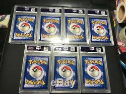 1x PSA 7 NM Blastoise Holo Rare Foil WOTC Base Set 2/102 Graded TCG Pokemon Card