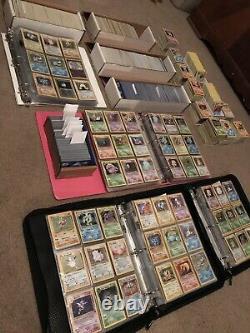 200 Lot Original Vintage Rare Pokemon Cards 4 Guaranteed 1st Edition Cards