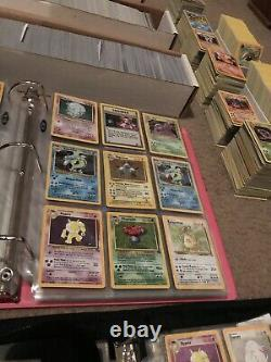 200 Lot Vintage WOTC 1999 Pokemon Cards 1st Editions, Holos, Rares, Shadowless