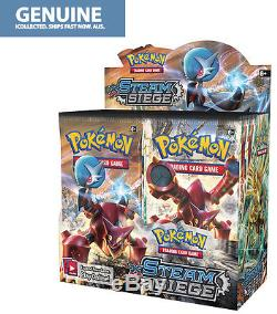 36 Booster Pack XY11 Steam Siege Pokemon Cards English Genuine Sealed Box