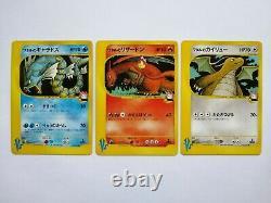 3setPokemon Card Lance's Charizard Gyarados & Dragonite VS Series Japanese