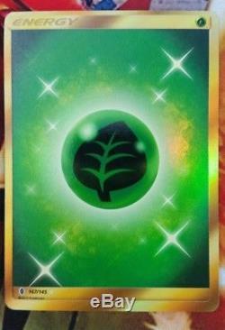 6 secret rare energy cards, Electric, grass, steel, fire, unit F. D. F, unit S. E. P