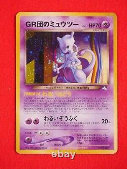 A- rank Pokemon Card GR Rocket's Mewtwo No. 150 GB Promo Holo Rare! #4959