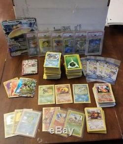 Amazing Huge Pokemon Card Lot Holo Rare Base Fossil Jungle Expedition Collection