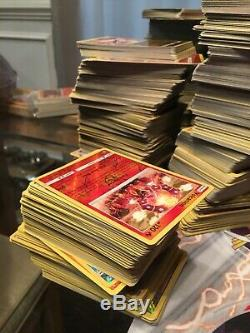 Authentic Bulk Pokemon Card Lot Commons/Uncommons/Rares/Holos/Trainers ALOT