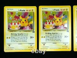 Birthday Pikachu #24 Holo Rare Black Star Promo Pokemon Card NM Condition