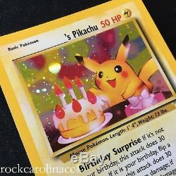 Birthday Pikachu HOLO RARE #24 (NM/M) Black Star PROMO Pokemon Cards