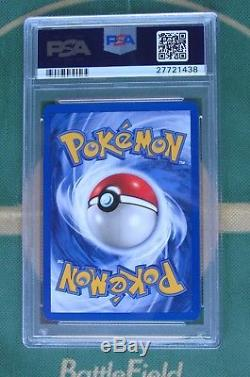 CHANSEY PSA 10 GEM MINT RARE HOLO Pokemon Base Set card 3/102