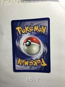 CHARIZARD 4/102 Base Set HOLO BLEED ERROR Very Rare Pokemon Card NM