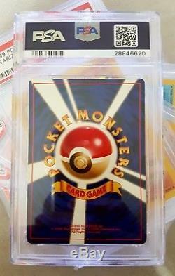 CHARIZARD BASE SET PSA 9 (MINT) 1996 Pokemon Card Holo Charizard Japan