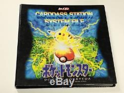 COMPLETE 153 POKEMON CARDDASS FILE 1997 Bandai Cards KEN SUGIMORI ULTRA RARE