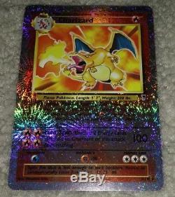 rare charizard card
