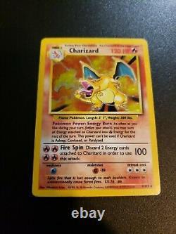 Charizard #4/102 1999 Base Set Holo Rare Pokémon Card Pokemon