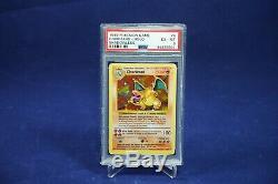Charizard 4/102 Shadowless Base Set Holo Rare Pokemon Card PSA 6