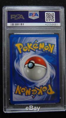 Charizard 4/130 Base Set 2 PSA 8 Near Mint Holo Rare Pokemon Card