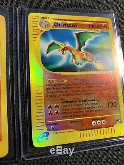 Charizard 6/165 And Charizard 40/165 Holo Rare Pokemon Cards Expedition Base Set
