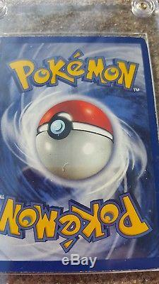 Charizard Pokemon Rare Card Holo 1st Base Set Shadowless 4/102 NM Excellent Case