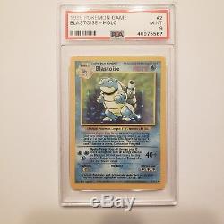 Charizard Venusaur Blastoise PSA 9 8 Base Unlimited Rare Holo Pokemon Card Mint
