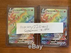 Charizard Vmax Hyper Rare PSA 10 Champions Path 074/073 English Pokemon Card