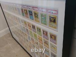 Complete 1st Edition Base Set Pokemon Cards PSA 8