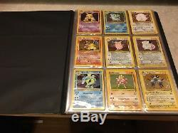Complete Base Set 2 130/130 Near Mint/Mint Pokemon Cards Charizard 4/130 Rare