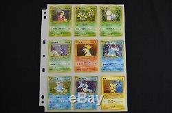 Complete Japanese Neo Genesis Set 2000 96/96 98 Pokemon Cards Free Tracking