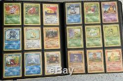 Complete Pokemon Base Set 2 130/130 Cards EX NM Rare Charizard Blastoise