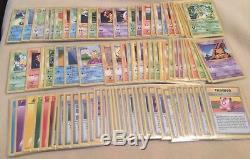 Complete SHADOWLESS Non Holo RARE/Uncommon/Common Set 86 Cards NM Plus Pokemon