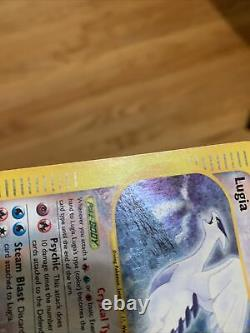 Crystal Lugia 149/147 Rare Holo Pokemon Card Aquapolis