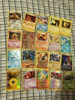 Damaged Pokemon Card Lot 200+ Rare Shining Charizard