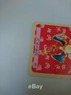 EX! Charizard Topsun CARDDASS BLUE BACK Pokemon card / Lizardon RARE! Japan