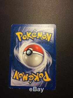 First Addition! Charmander Pokemon Card 50/82 EXTREMELY RARE! Near Mint