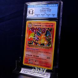 GEM MINT Charizard Holo Rare CGC 9.5 11/108 XY Evolutions Pokemon Card PSA 10