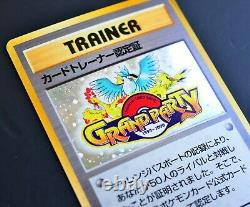 Grand Party Japanese Pokemon Card 1999 Trainer Certification Card Fan Club Promo