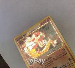 Gyarados 2006 Delta Species Gold Star Pokemon card, 102/110, very rare