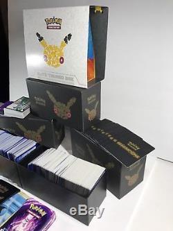 HUGE Pokemon Card Collection 1200+ Common, Uncommon, Rare, 117 Holofoil + More