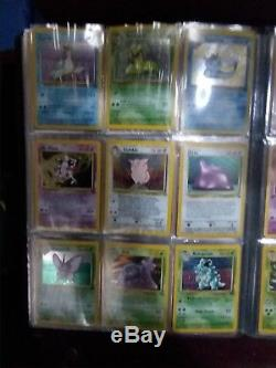 Holo Pokemon Card Lot Binder Read Description! Rares in the back of the book