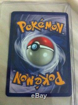 Holographic Raichu Original 1999 Base Set 14/102 Pokemon Card Rare