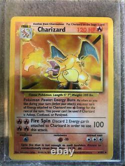 Huge Vintage Pokemon Card Binder Lot Base Set 1st Edition Rare Holos Charizard