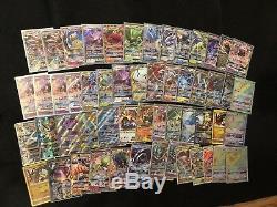 Huge pokemon card collection lot. 10 Ultra Rare EX/GX Holos Rares Mint